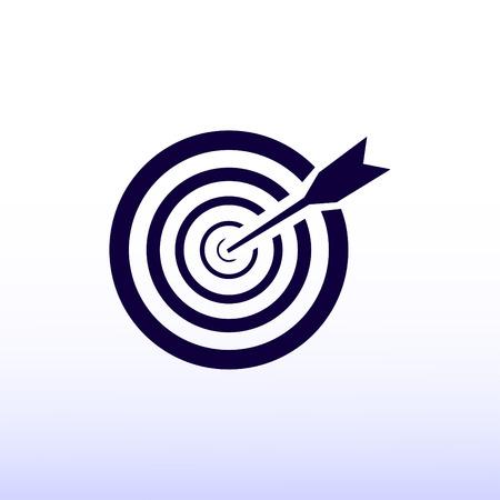 aim, target icon Illustration