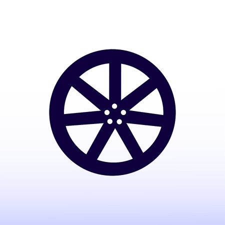 wheel disks icons