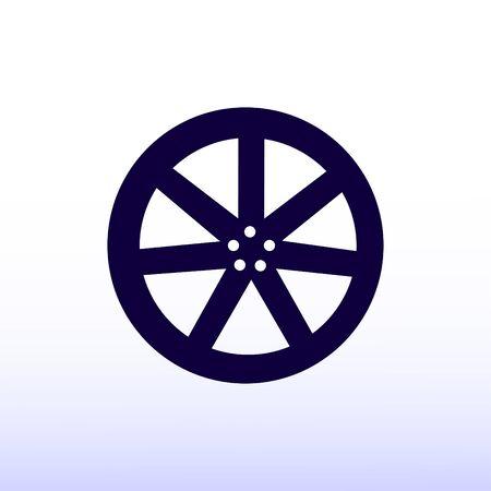 disks: wheel disks icons