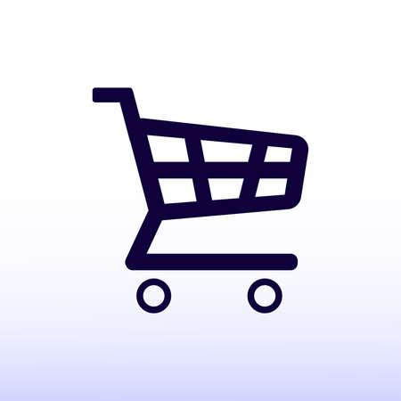 shopping chart: shopping chart icon Illustration