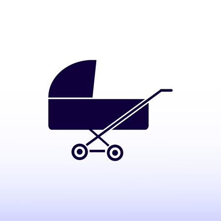 babysitting: baby icon Illustration