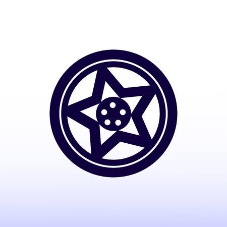 disks: wheel disks icon