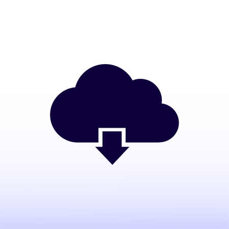 simplus: cloud vector icon