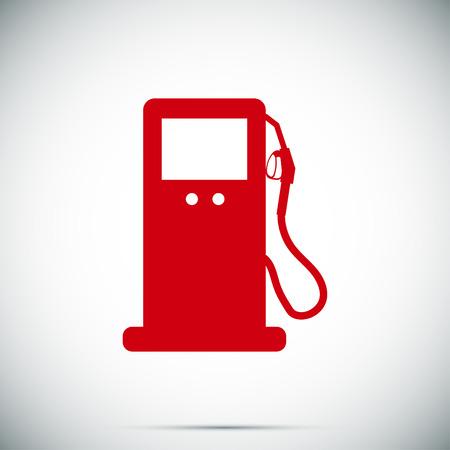 benzine: gas vector icon, vector best flat icon Illustration