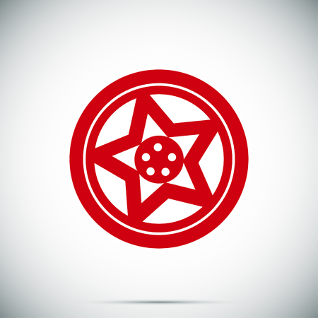 disks: wheel disks icon, vector best flat icon Illustration