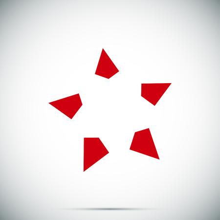 star icon, vector best flat icon Illustration