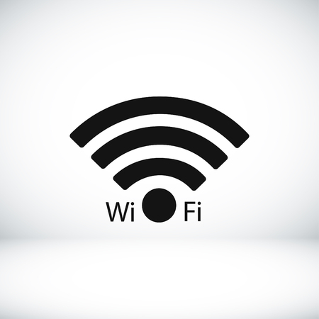 Wifi icon, vector best flat icon Illustration
