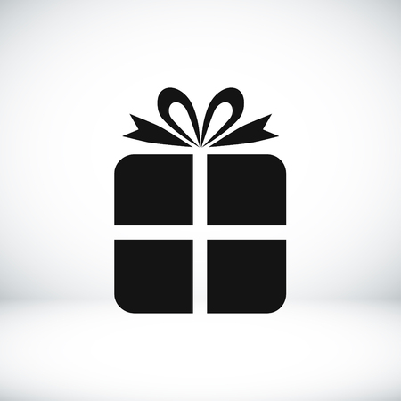 gift icon: gift icon, vector best flat icon