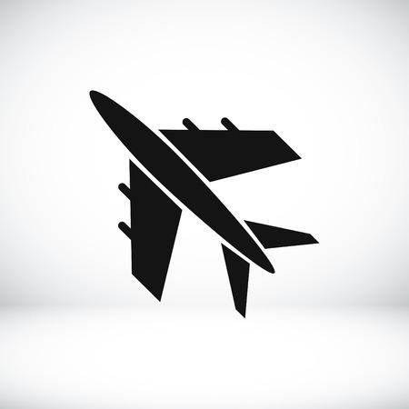 plane vector icon, vector best flat icon Illustration
