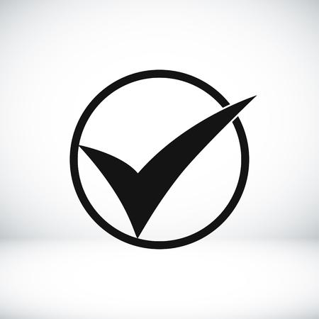 ok vector icon, vector best flat icon