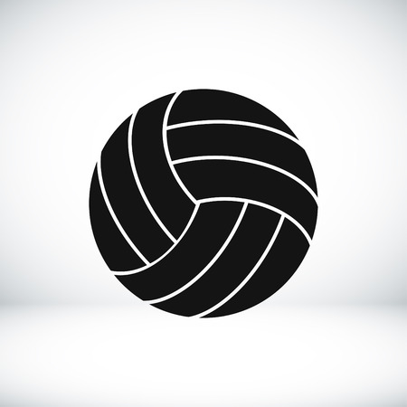 volley ball: volley ball icon, vector best flat icon
