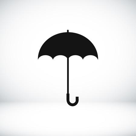 umbrella icon, vector best flat icon Illustration