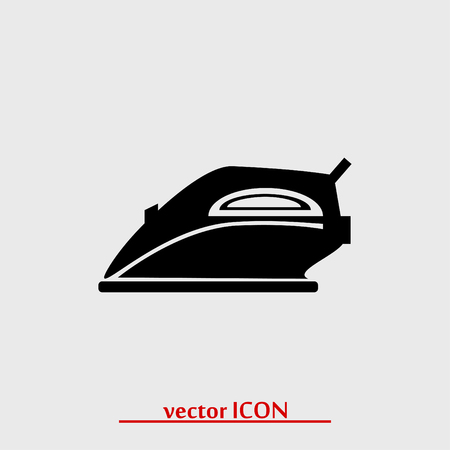 steam iron: iron icon, vector best flat icon