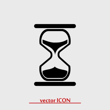 timepieces: hourglass vector icon, vector best flat icon