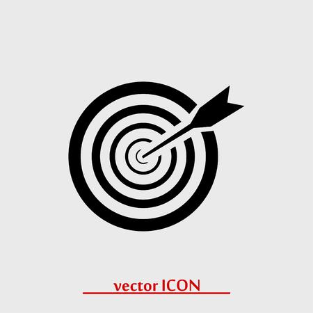 aim icon, vector best flat icon