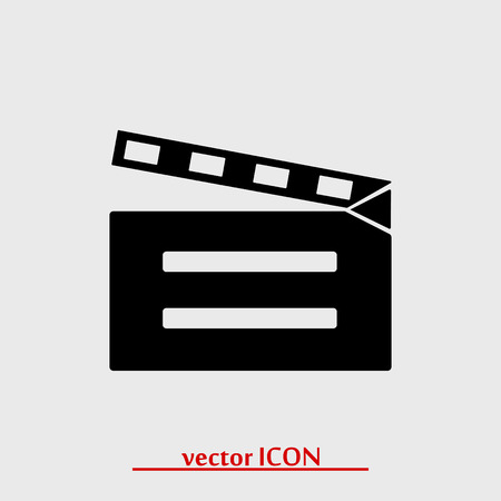 cinematographer: video icon, vector best flat icon