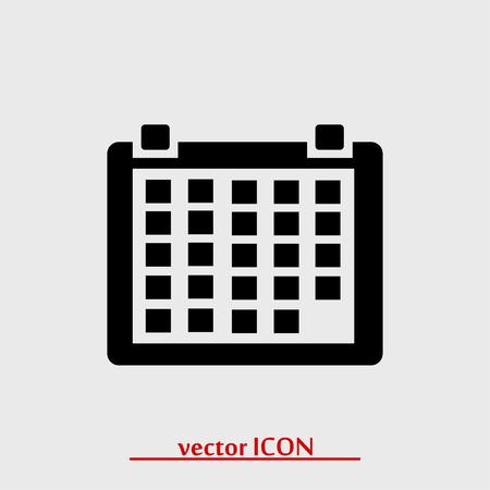 calender icon: calendar icon, vector best flat icon