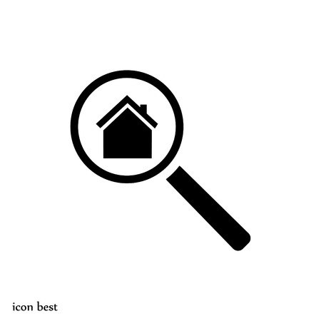 search house, icon, vector best flat icon