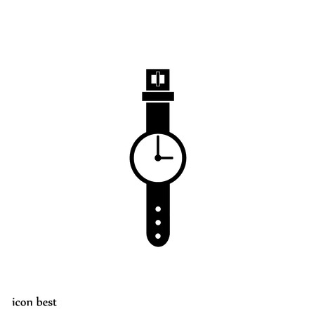 watch icon, vector best flat icon