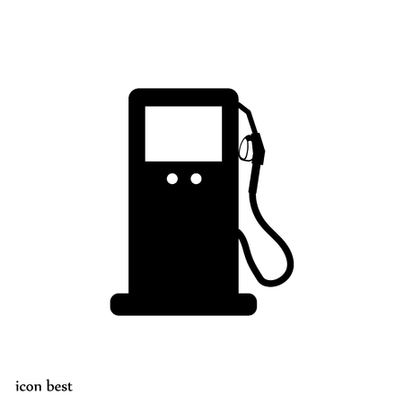 refueling: gas vector icon, vector best flat icon, EPS