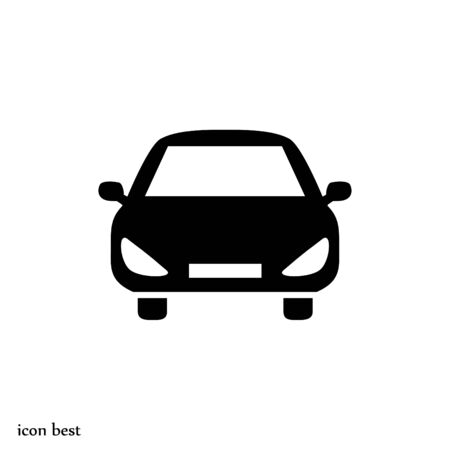 car vector icon, vector best flat icon
