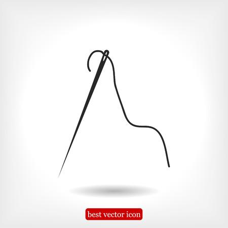 needle icon, vector best flat icon, EPS