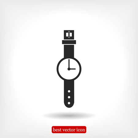 watch icon, vector best flat icon, EPS Illustration