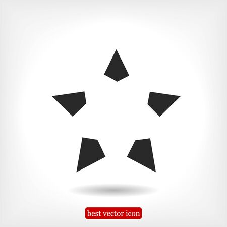 award winning: star icon, vector best flat icon, EPS
