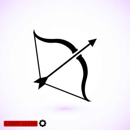 Cupid icon, vector best flat icon.