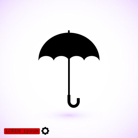 eps vector icon: umbrella icon, vector best flat icon, EPS
