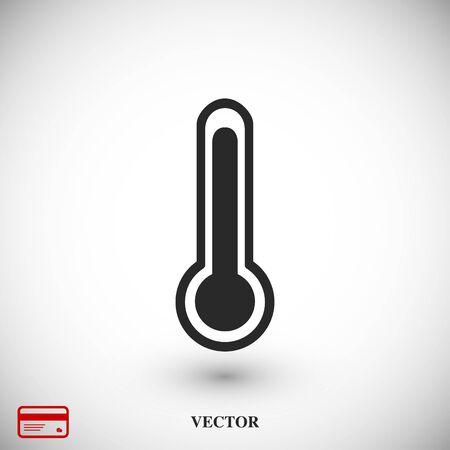 themperatures icon, vector best flat icon, EPS Vettoriali