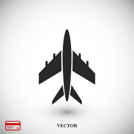 plane vector icon, vector best flat icon EPS Illustration