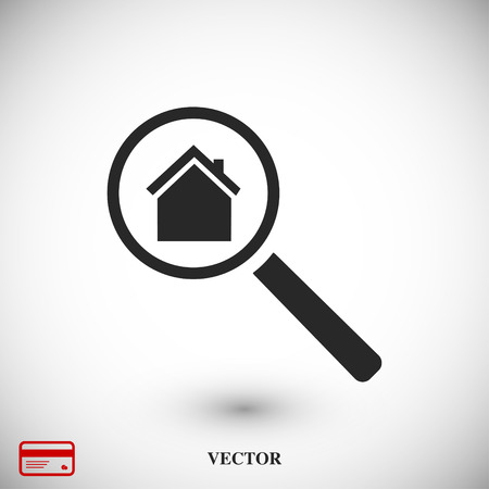 search house, icon, vector best flat icon, EPS Illustration