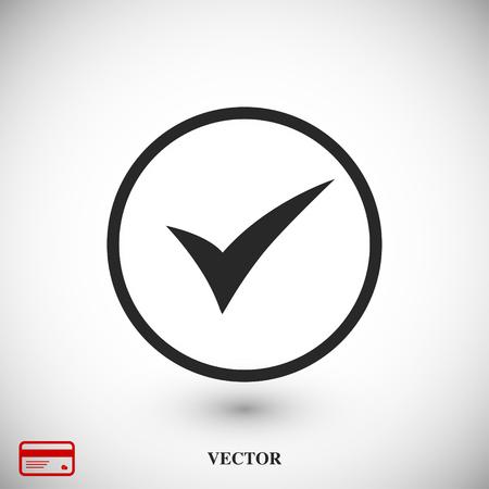 ok vector icon, vector best flat icon, EPS Illustration