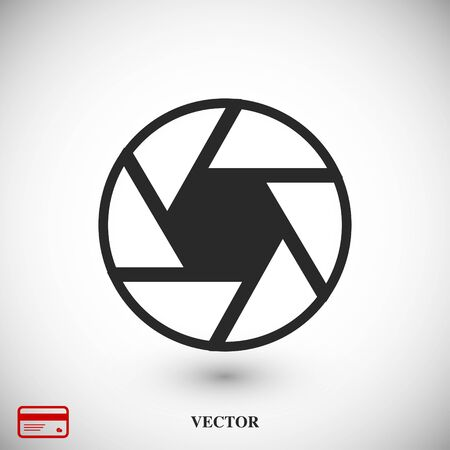 camera icon, vector best flat icon EPS 10