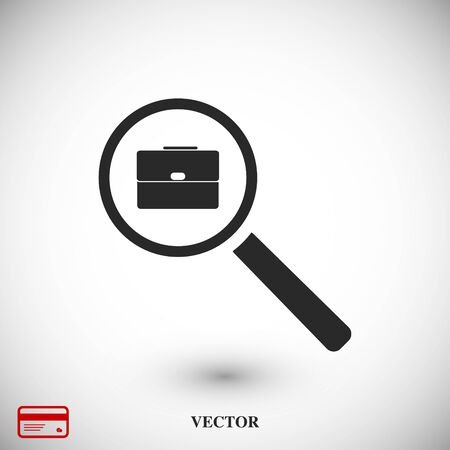 eps vector icon: search job, icon, vector best flat icon, EPS