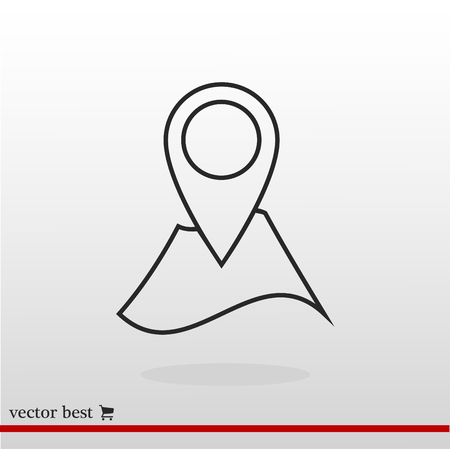 Navigator guide icon, vector best flat icon, EPS Illustration