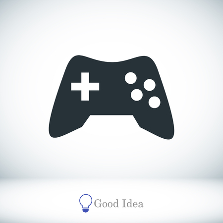 controlling: game icon, vector best flat icon, EPS
