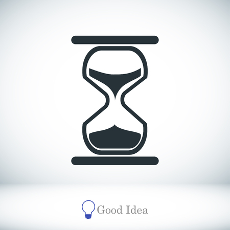 timepieces: hourglass vector icon, vector best flat icon, EPS Illustration