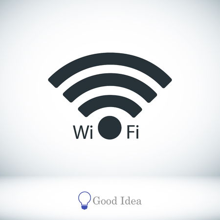 Wi-Fi icon, vector best flat icon, EPS Illustration