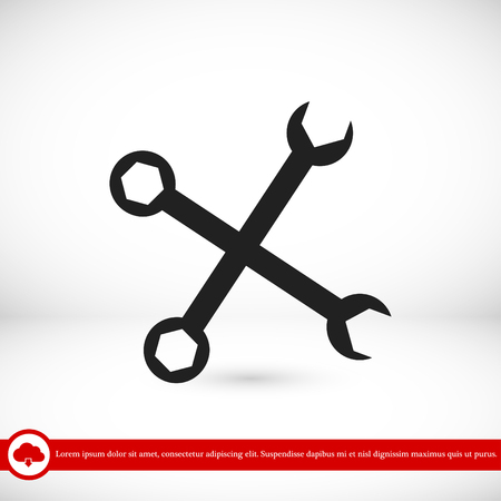 repair icon, vector best flat icon, EPS Illustration