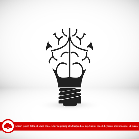 light - bulb icon, vector best flat icon EPS 10