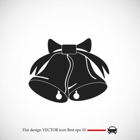 bells icon, vector best flat icon, EPS Illustration