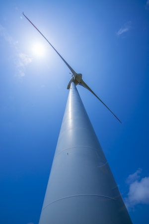 Wind-power tower photo
