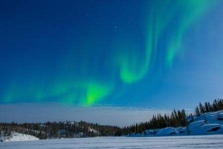 Northern Lights Standard-Bild