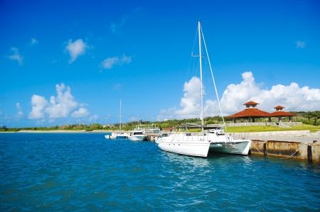 Turquoise blue beach