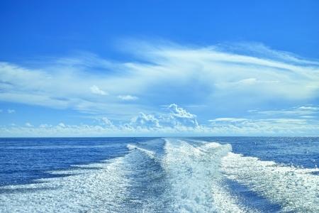 major ocean: sea and Spur Stock Photo