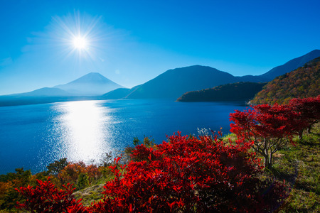 Autumn scenery of Japan