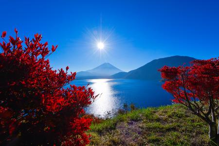 Autumn scenery of Japan