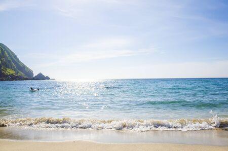 horizontální: letní plážové Reklamní fotografie